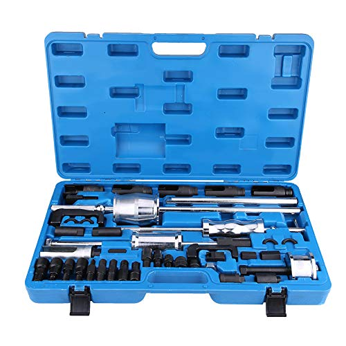 Zerone Trekker, 40 stuks Common Rail Injector Extractor Diesel Trekker Set Injection Tool Kit