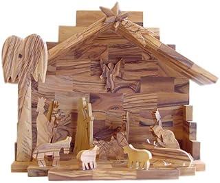 Olive Wood Nativity Set- Hand Made