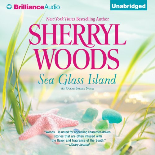 Sea Glass Island audiobook cover art