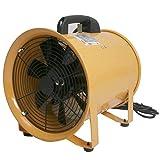 「換気・送風・排気に!」口径250mm/ポータブルファン送風機【本体】- SHT-250