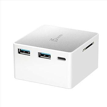 j5 create ジェイファイブ クリエイト 電源内蔵 USB Type C ミニドッキングステーション(USB3.0, 4K HDMI,SD) Windows,MacBook対応 JCDP385-A