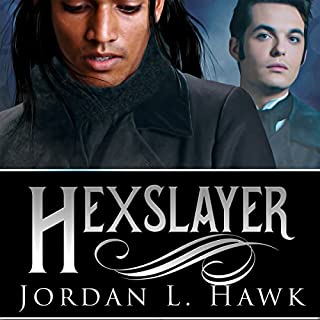 Hexslayer     Hexworld, Book 3              Written by:                                                                                                                                 Jordan L. Hawk                               Narrated by:                                                                                                                                 Tristan James                      Length: 9 hrs and 15 mins     1 rating     Overall 5.0