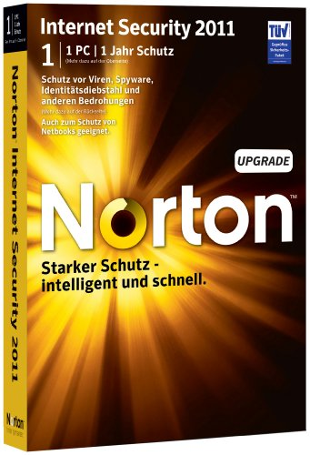 Norton Internet Security 2011 - 1 User - Upgrade [import allemand]