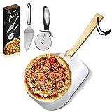 Pala para pizza,Pala pizza-De Aluminio con Mango De...