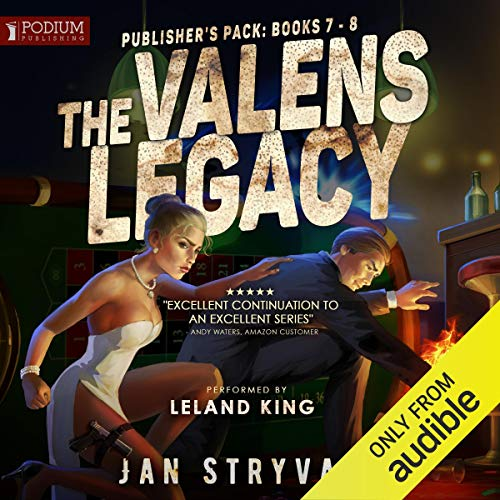 Page de couverture de The Valens Legacy: Publisher's Pack 4