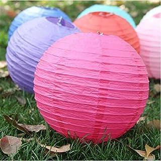 Generic 6, 12 inch 30cm : 2017 New wholesale Retail 1 Pcs Chinese Round Paper Lantern Birthday Wedding Decoration Party de...