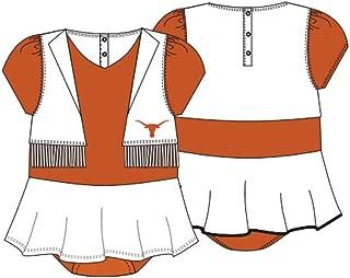 SC Authentic Apparel Texas Longhorns Youth Pom Pom Cheer Uniform