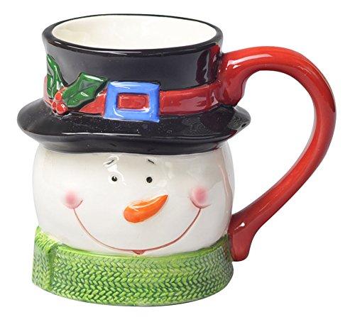 クリスマス キャラクター マグカップ/スノーマン QZL-8002