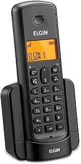 Kit Telefone + 2 Ramais sem Fio Elgin com identificador TSF8003 Preto, Elgin, TSF8003, Preto