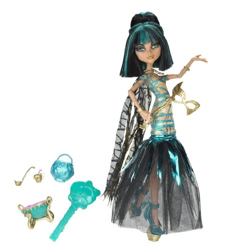 Monster High X3718 - Bambola, Halloween Cleo del Nilo