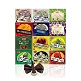 Hem 12 Assorted Boxes of Incense Cones, 12 X 10 (120 total)