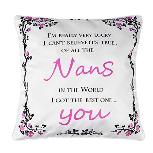 WINOMO Mothers Day Pillow Case Cushion Cover Gift For Mum