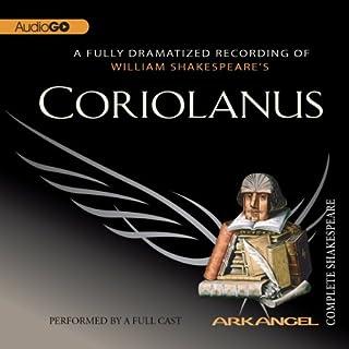 Coriolanus audiobook cover art