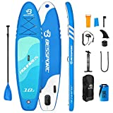Bessport SUP Gonfiabile, 310x76x15cm Tavola SUP Gonfiabile Stabile con Set Completo, Stand Up Paddle...