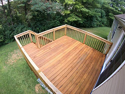 Deck Premium Semi-Transparent Wood Stain For Decks