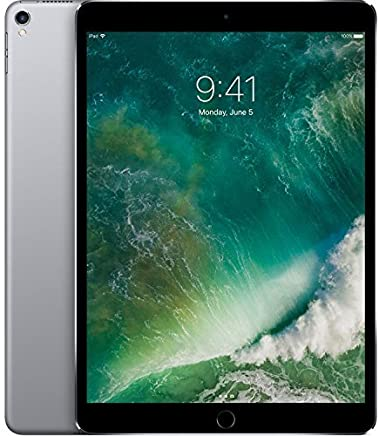 Apple 10.5in iPad Pro 256GB, Wi-Fi, Space Gray MPDY2LL/A (Renewed)