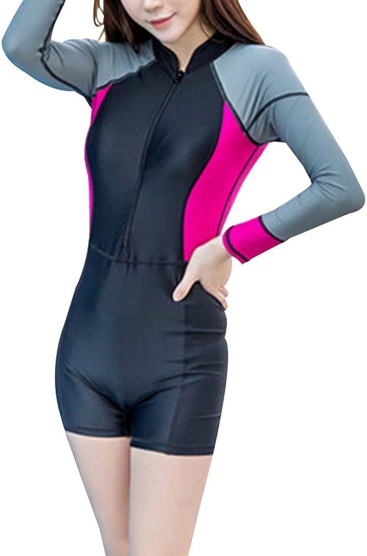 Fashion Female Onepiece Swimming Suit Diving Suit Surf Suit