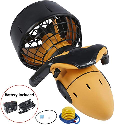 Electric Power Surfboard, Swimming Kick Board, Diving Sea Scooter, for...
