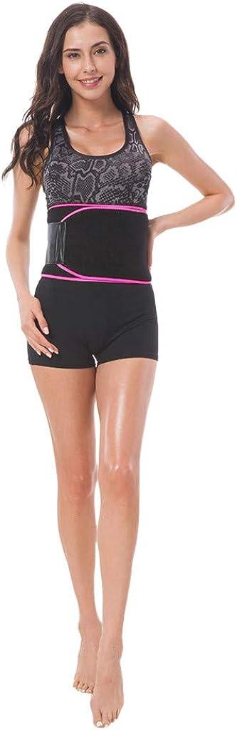 MODOQO Waist Trimmer Belt Weight Loss Wrap Stomach Fat Burner Sauna Suit Trainer