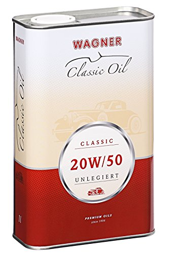 WAGNER Classic Motorenöl SAE 20W/50 unlegiert - 460001-1 Liter
