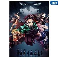 アニメマンガ-大人のためのジグソーパズル1000ピースパズル大人のための挑戦的なゲームギフトおもちゃ子供ティーン家族パズル(75x50cm)