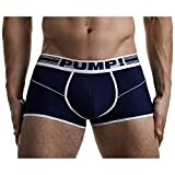 PUMP! Underwear Free-Fit Boxer Navy Boxershorts