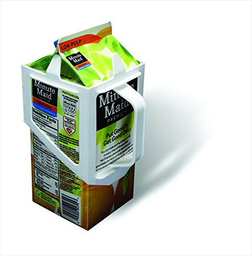 Carton Caddy Milk Holder, Juice Holder, 1/2 Gallon Carton Holder