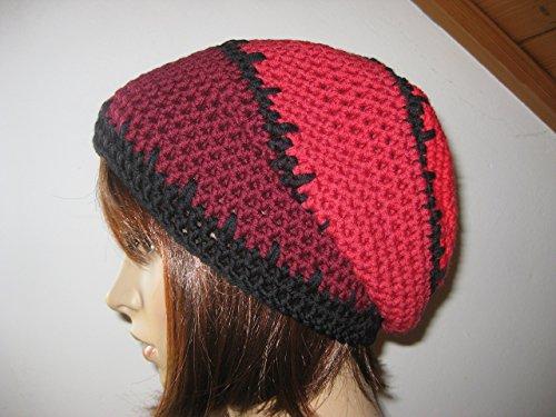Mütze, Beanie im Boshi Style, reine Merino-Wolle