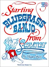 PCB104 - Starting Bluegrass Banjo from Scratch - Book/CD