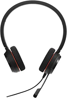 Jabra Audífonos con Micrófono Evolve 20 UC Stereo, Alámbrico, USB, Negro