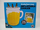 inflatable beer bottle - The Frothy Inflatable Cooler - Keeps Drinks Icy Cold
