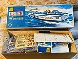 当時物 オオタキ 快速ボート タイガーデルタ 未組立 大きサイズ 美品 中身未開封 説明書付