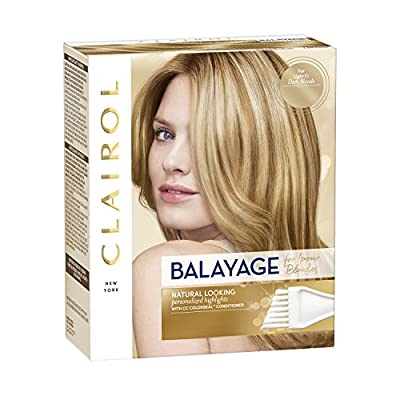 Clairol Nice'n Easy Balayage Permanent Hair Color, Blondes, 1 Count