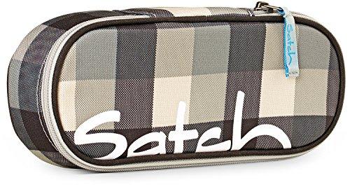 SATCH Tweaker Federmäppchen SAT-SSC-001-976, 22 cm, 1 L, Black Grey Checks