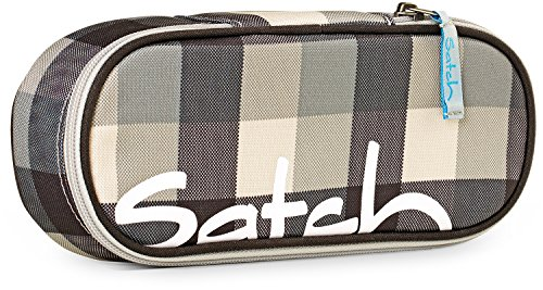 SATCH Tweaker Federmäppchen SAT-SSC-001-976, 22 cm, 1 L, Black Grey Checks