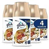 Glade Automatic Spray Ricarica, Fragranza Sensual Sandalwood & Jasmine, Formato Scorta, 1 Confezione da 4 x 269 ml