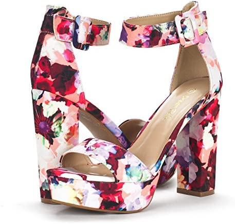 Colorful wedges shoes _image1