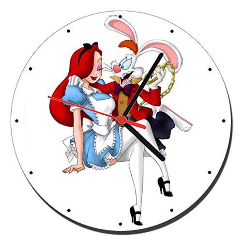MasTazas Quien Engaño A Roger Rabbit Who Framed Roger Rabbit B Reloj de Pared Wall Clock 20cm