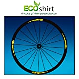 Ecoshirt XK-3IKY-04QC Pegatinas Stickers Llanta Rim Mavic 26' 27,5' 29' Am43 MTB Downhill, Amarillo