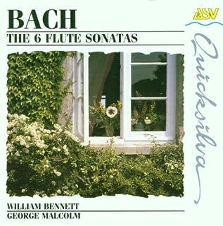 Bach: The Six Flute Sonatas /WILLIAM BENNETT (1994-01-04)