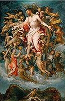 ERZAN ジグソーパズル 300 ピース天使の聖母ジグソーパズル 風景