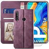 YATWIN Huawei P30 Lite Case, Huawei P30 Lite Flip Wallet