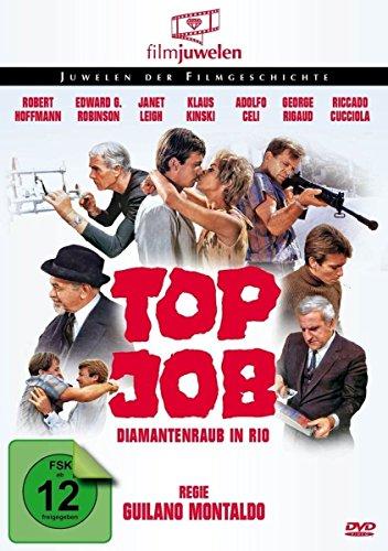 Top Job - Diamantenraub in Rio - mit Klaus Kinski & Edward G. Robinson (Filmjuwelen)