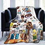 Secret Life of Pets Novelty Blanket Flannel Soft Blanket Throw Blankets Luxury Ultra-Soft Micro Fleece Blanket for Bed Couch Sofa Blanket