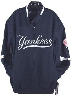 Majestic Premier Big Size Men's Jacket New York Yankees Navy Blue