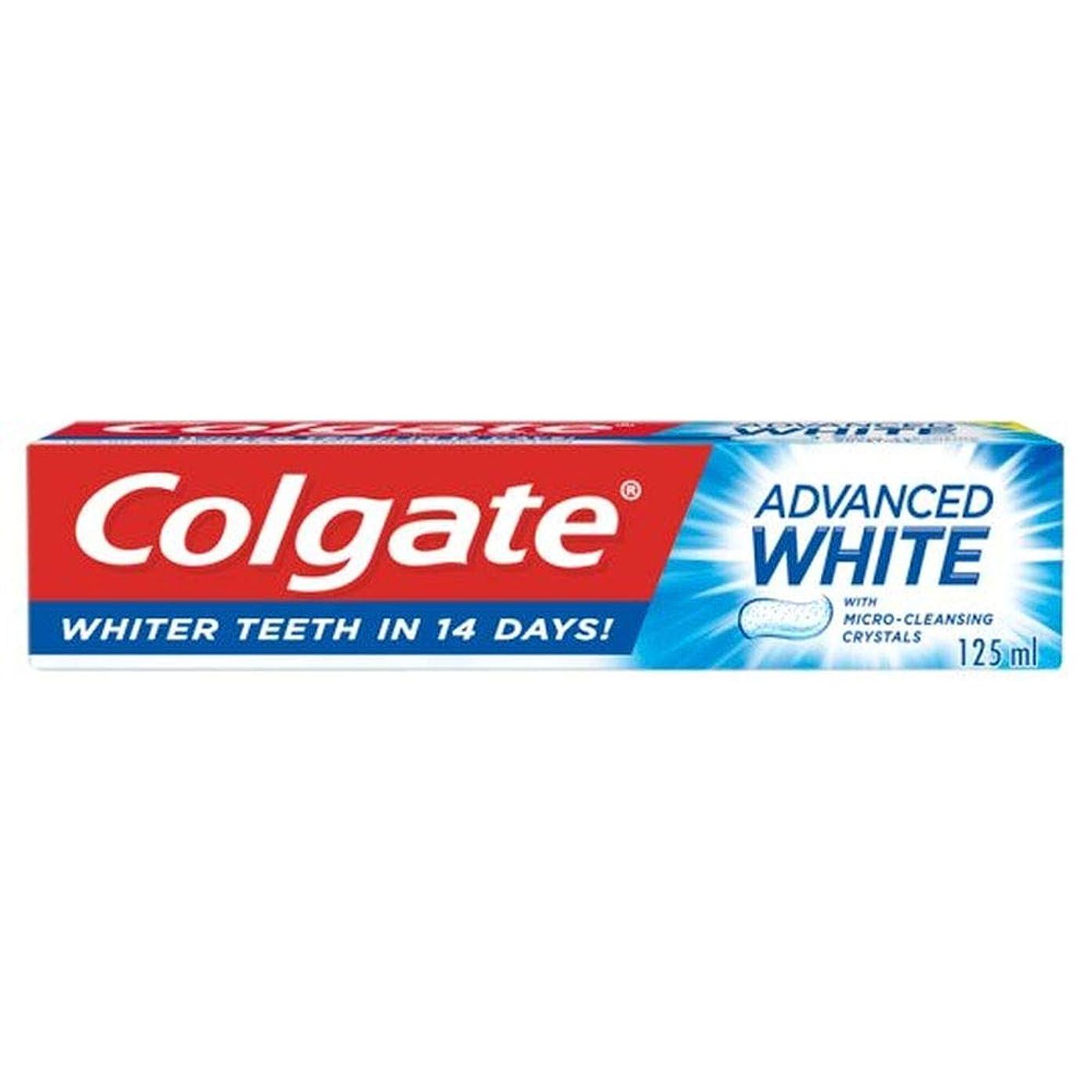 偉業然とした免疫[Colgate ] コルゲート高度な白い歯磨き粉の125ミリリットル - Colgate Advanced White Toothpaste 125Ml [並行輸入品]