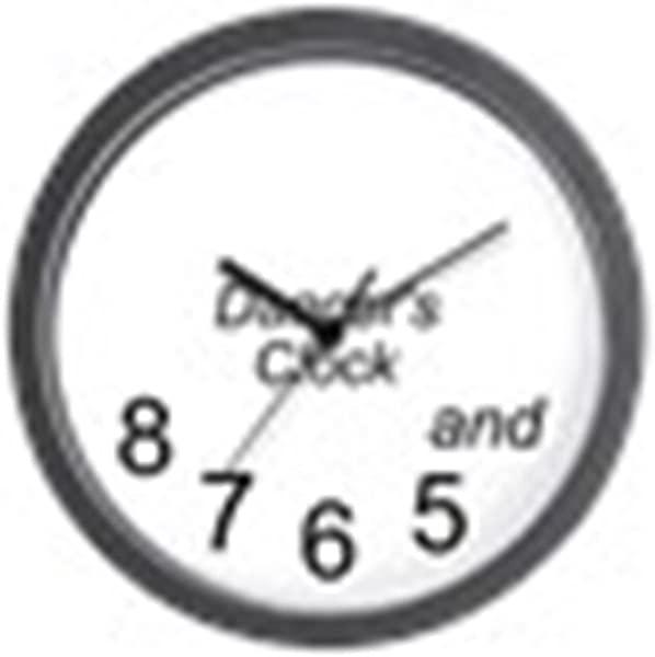 CafePress Dancer S Unique Decorative 10 Wall Clock