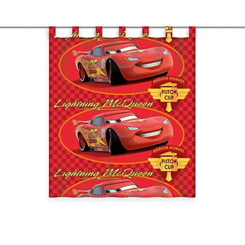 Herding gordijn Disney's Cars, polyester, meerkleurig, 160 x 140 cm