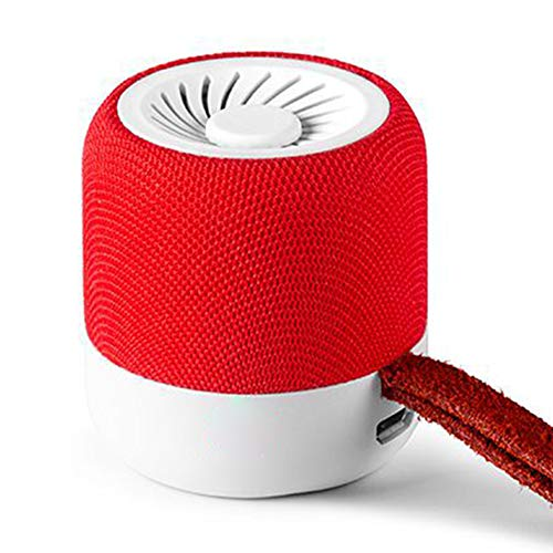 JINYIJUN Mini altavoz Bluetooth portátil con sonido pequeño, resistente al agua, altavoz...