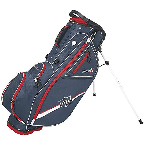 Wilson Staff Hybrix Carry Bag, Navy/Red